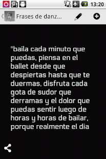 Frases de danza - screenshot thumbnail