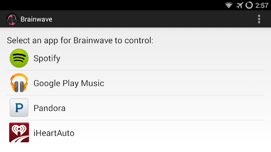 BrainWave Music Control Screenshot 18