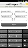 Screenshot of VakıfBank Cep Şifre