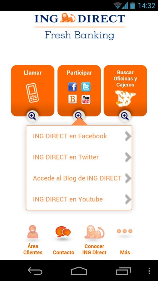 Ing direct negocios android apps on google play for Oficina ing direct madrid