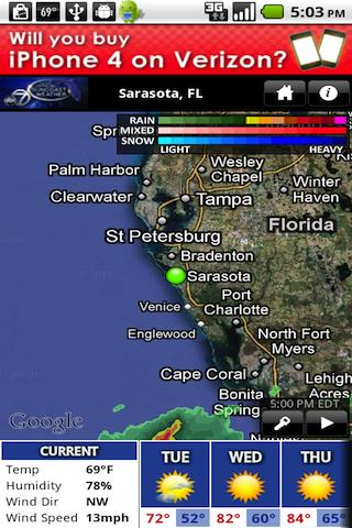 SuncoastWx- screenshot