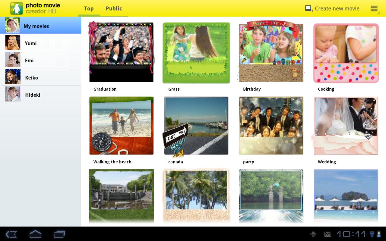 photo movie creator HD - screenshot