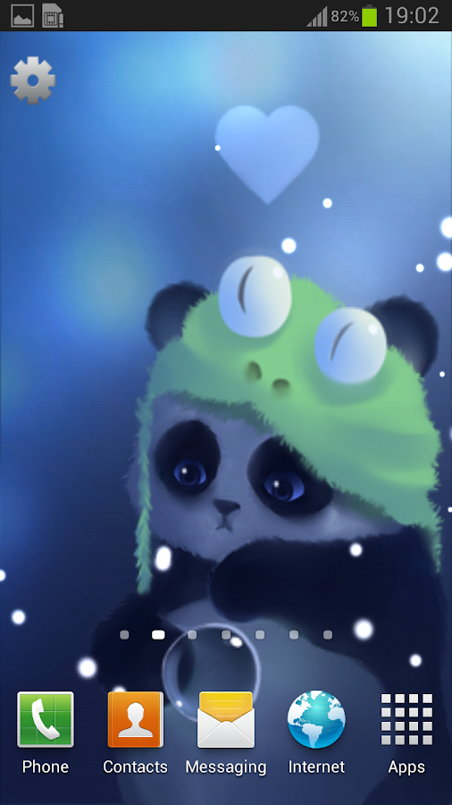 Panda Lite Live Wallpaper - screenshot