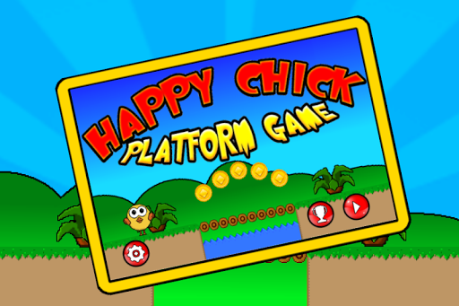 Happy Chick - Platform Game