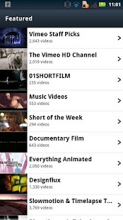 Vimeo - screenshot thumbnail