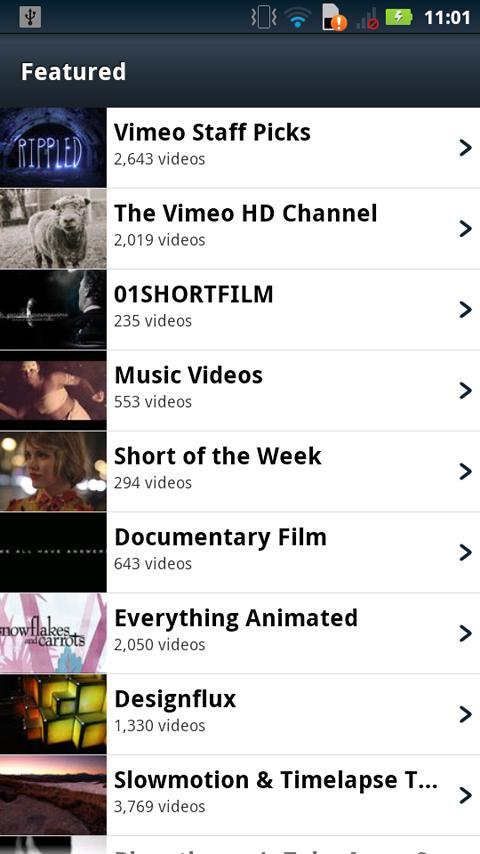 Vimeo- screenshot