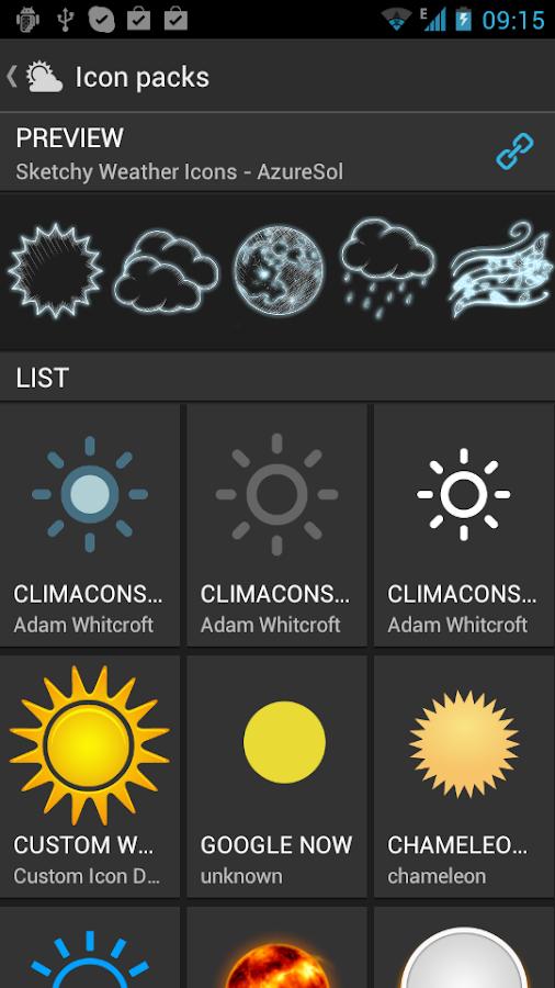 UNIWeather - Weather in pocket - screenshot