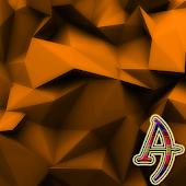 Orange Polygons Xperien Theme