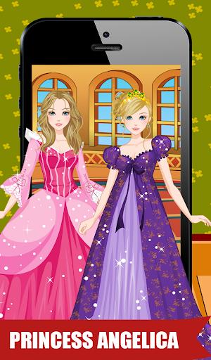 华丽的公主装扮
