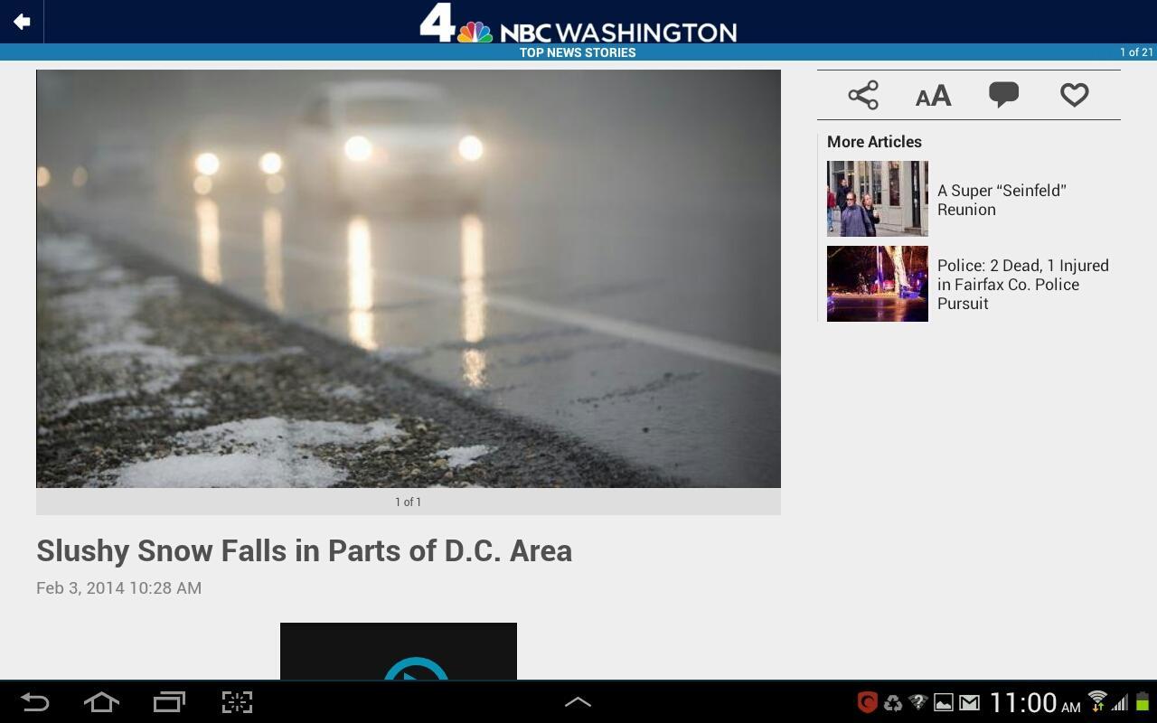 NBC Washington - screenshot