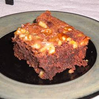 Passover Brownie Cake.