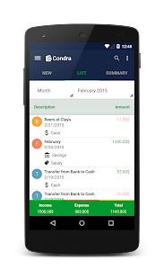 Money Expense Manager- screenshot thumbnail