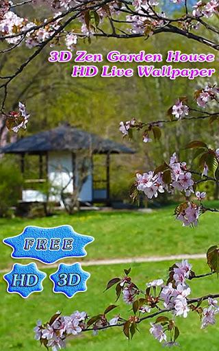 3D Zen Garden House Free