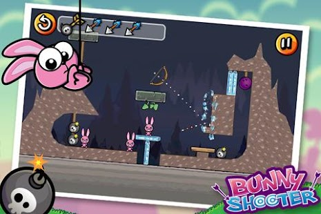 Bunny Shooter Free Funny Archery Game- screenshot thumbnail