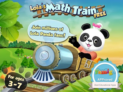 Lola's Math Train FREE - screenshot thumbnail