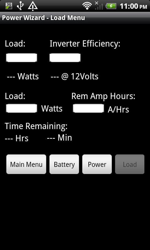Power Wizard- screenshot