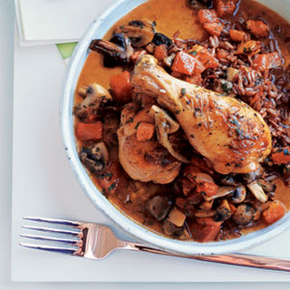 Chicken with Mushrooms and Tomato.