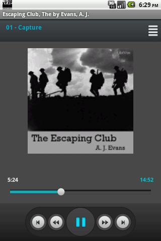 The Escape Club Evans Librivox