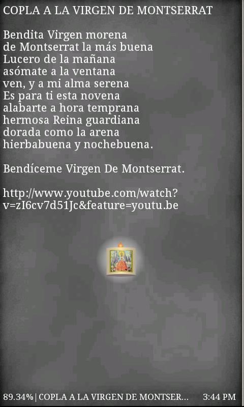 Virgen de Monsterrat Free- screenshot