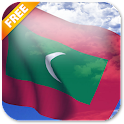 3D Maldives Flag LWP icon