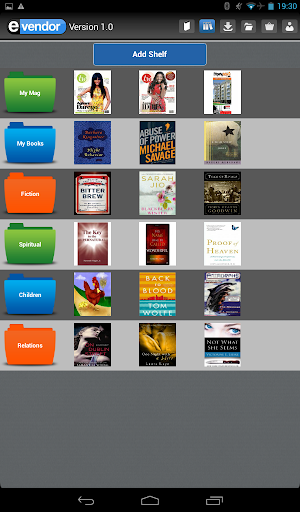 【免費書籍App】EVendor Reader-APP點子