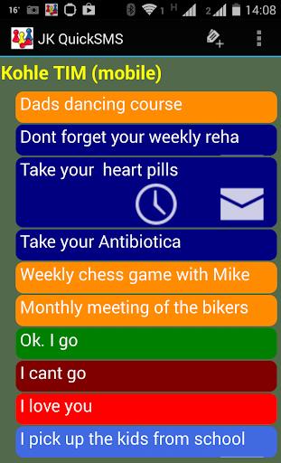 JK Quick SMS - Schedule sms