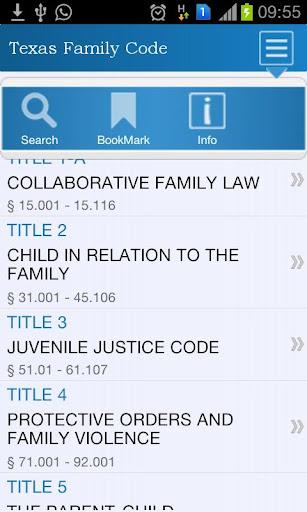 【免費書籍App】Texas Family Code-APP點子