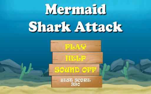 美人魚鯊魚攻擊