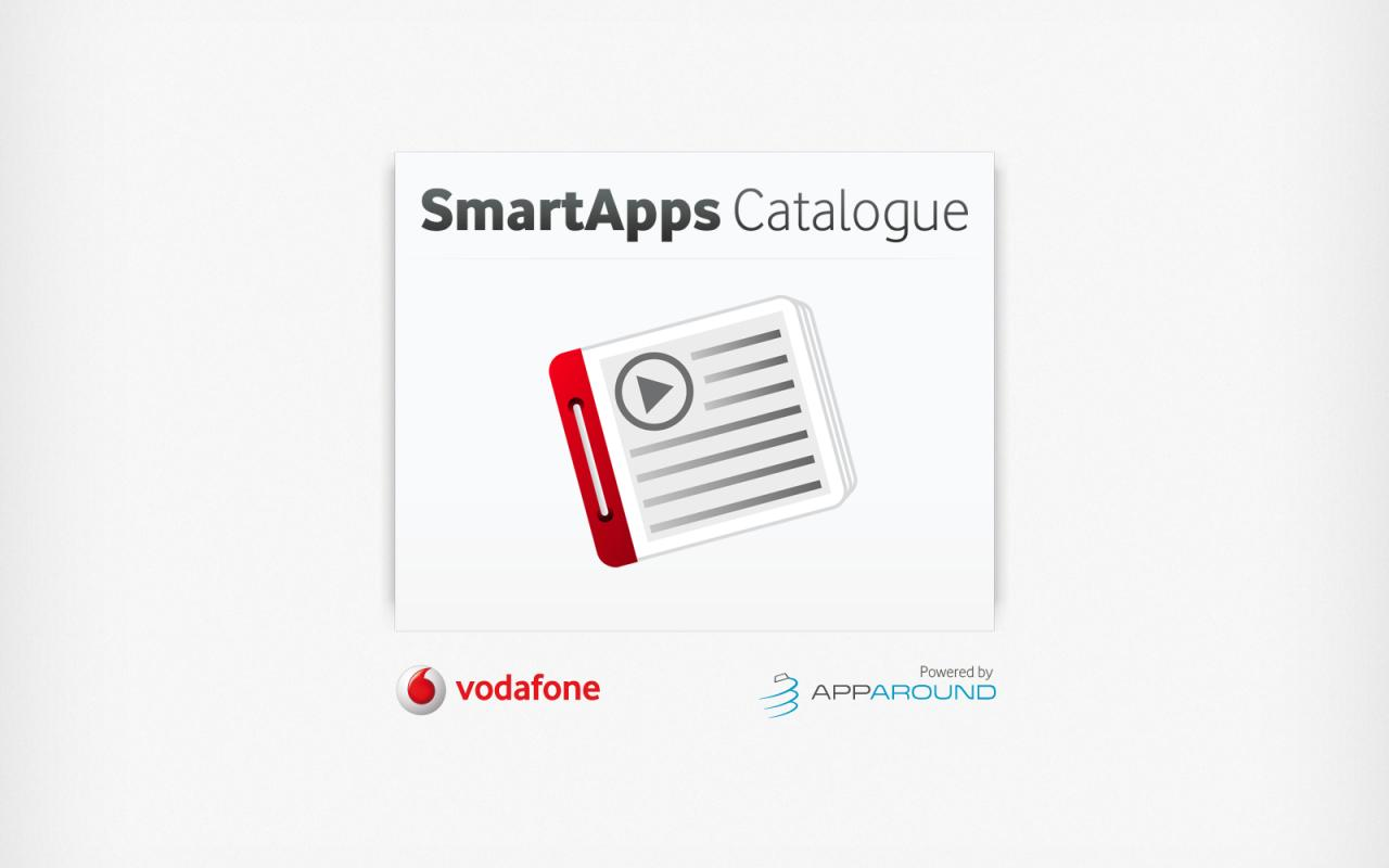 Vodafone Catalogue - screenshot