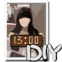 Photo Clock DIY icon