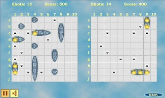 Screenshot of Sea Battle