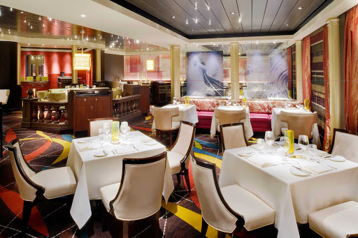 Crystal-Symphony-Prego-restaurant - Enjoy Italian cuisine at the specialty restaurant Prego on your Crystal Symphony sailing.