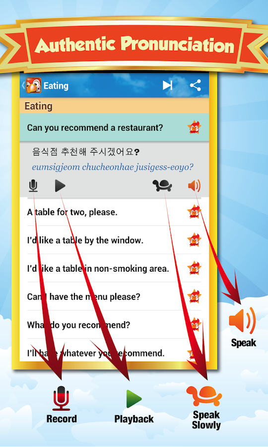 Learn Korean - screenshot