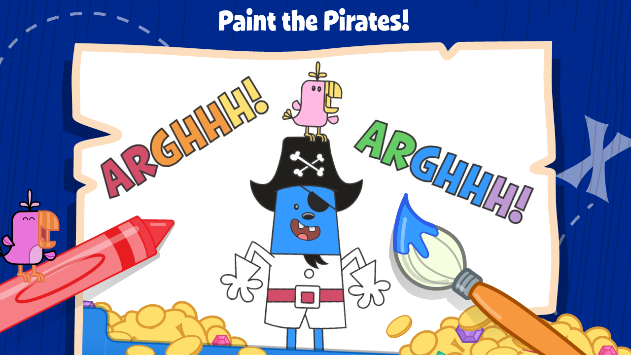 Wubbzy's Pirate Treasure - screenshot