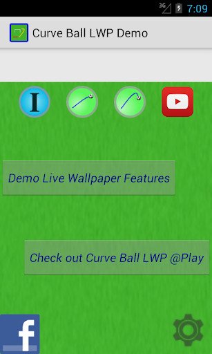 Curve Ball Demo