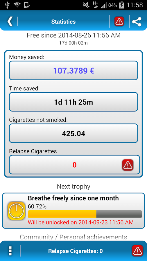 Stop! Quit Smoking - LITE - screenshot