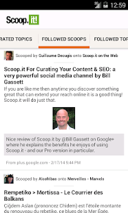 Scoop.it- screenshot thumbnail