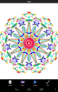 Magic Paint Kaleidoscope - screenshot thumbnail