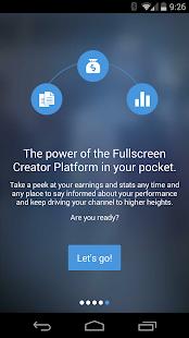 Fullscreen Creator Platform- screenshot thumbnail