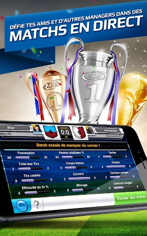 android Top Eleven Be a Soccer Manager Screenshot 2