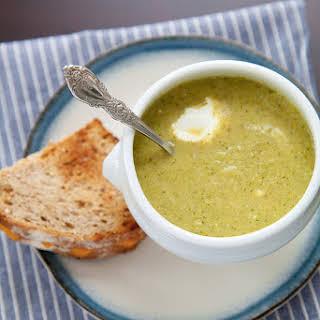 Creamy Broccoli Soup.
