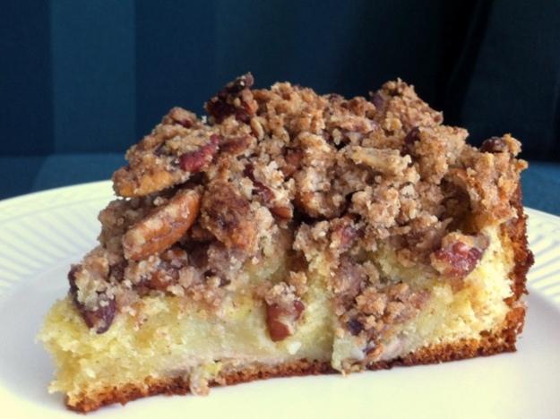 Banana Pecan Coffee Cake Recipe