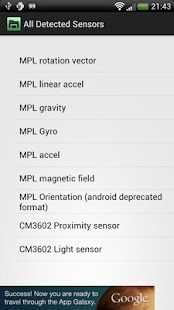 3D Sensors Explorer- screenshot thumbnail
