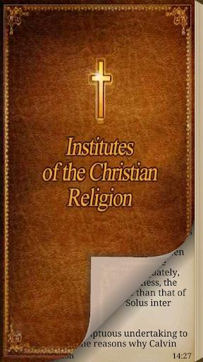 Institutes Christian Religion