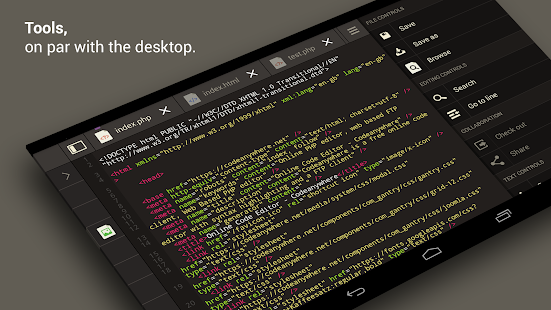 Codeanywhere- screenshot thumbnail