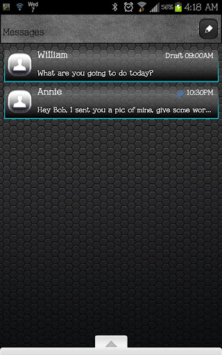 GO SMS - Grayscale