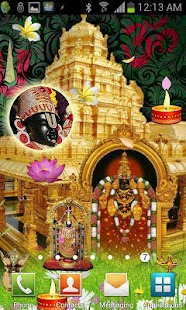 Tirupati BALAJI Live Wallpaper - screenshot thumbnail
