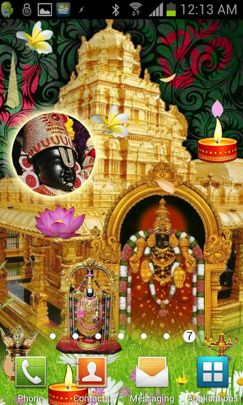 Tirupati BALAJI Live Wallpaper- screenshot