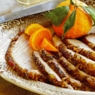 Pecan, Bourbon And Cane Syrup Ham.