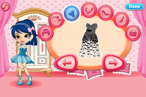 Design Dress Up Game Girl Dress Up Prom Night Girls Game